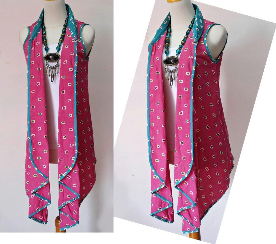 Desain Baju Batik Unik: Model Batik Modern